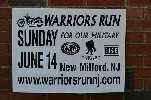 Warrior's Run, Inc's 2nd Annual Motorcycle Run 2015
