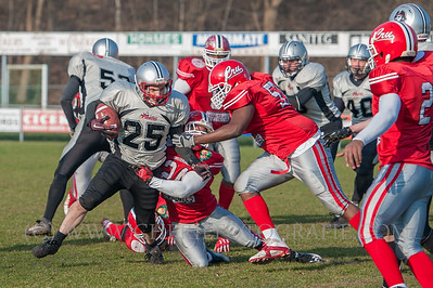 Nijmegen Pirates vs Amsterdam Crusaders 2015