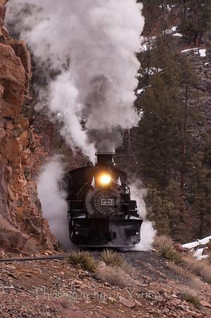 Winter Flanger Photographer's Train