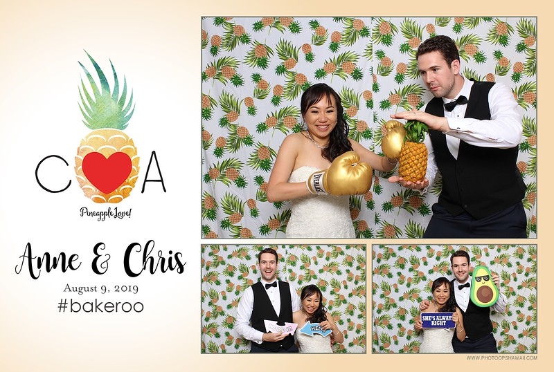 Anne & Chris (Fusion Photo Booth + Digital Green Screen Photo Booth)