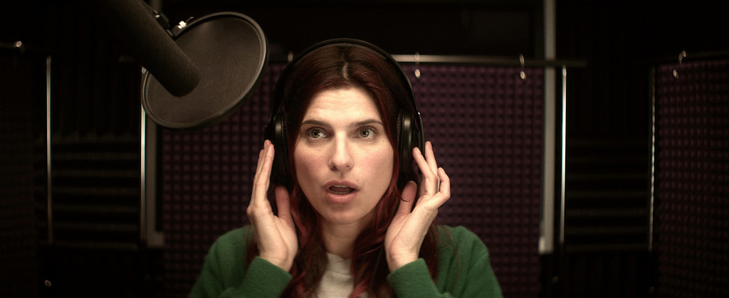 ". Lake Bell wrote, directed and stars as a third generation voice-over artist fighting sexism in the movie trailer biz in the Roadside Attractions film ""In a World,\"" out Aug. 9."