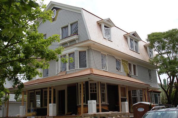 Lisa & Jay's Cape May House - Under Construction 15-May-11