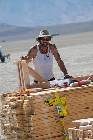 Burning Man 2019 Temple of Direction Build and Crew