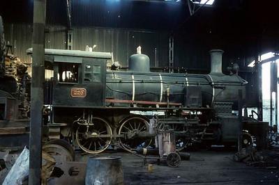 Paraguay steam, 1976