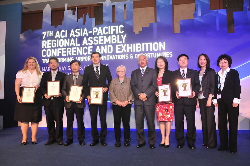 2012-3 Presentation Ceremony of the Green Airport Recognition Awards, Singapore, May 2012