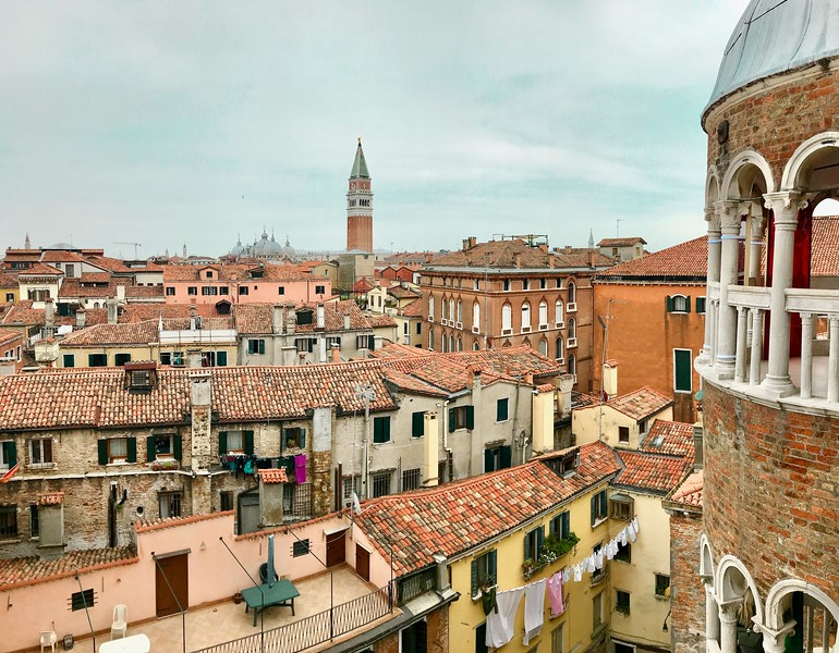 View from Scala Contarini del Bovolo