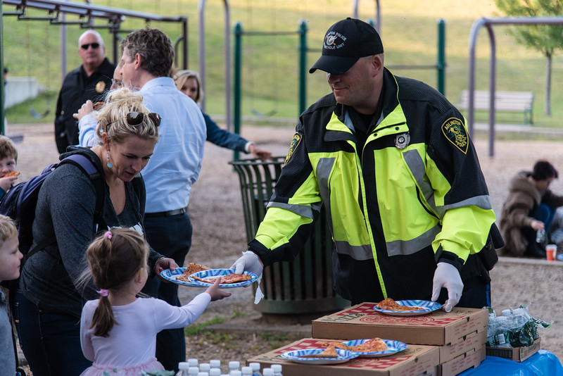Pizza with Police at the Park 2019_ERF4462