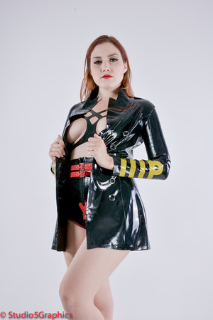 Porcelain Captains Outfit Latex