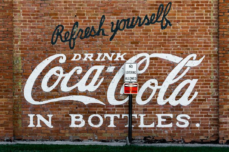 GA, Attapulgus - Coca-Cola Wall Sign 02