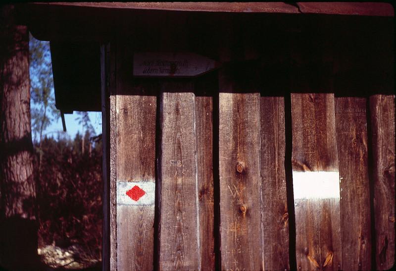1964 08 Hiking trail signs.jpg