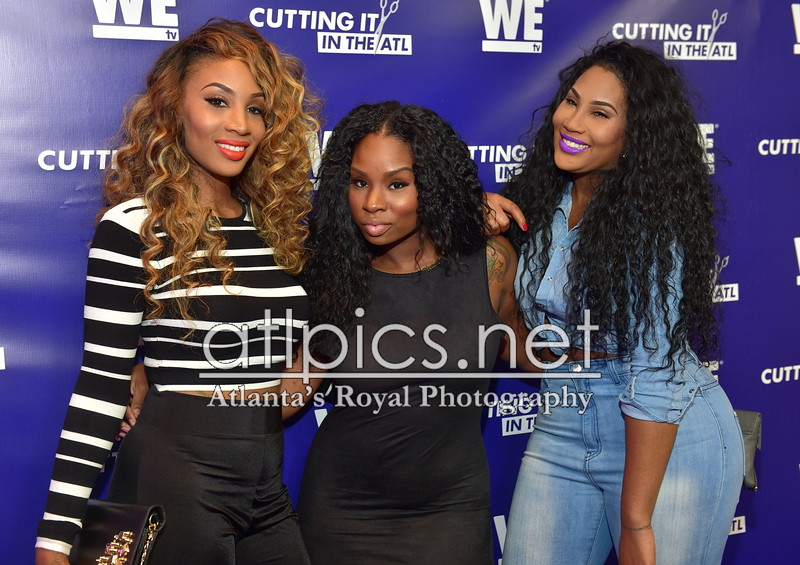5.13.15 WE TV's 'Cutting It: In the ATL' Premiere
