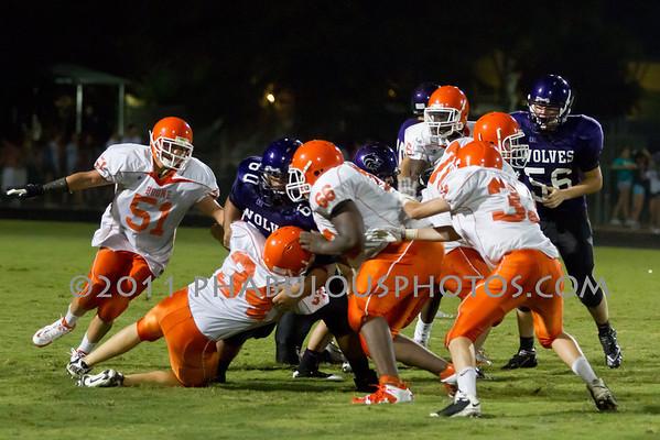 Boone JV Football #34- 2011