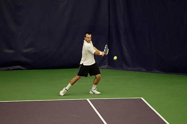 Cal Poly tennis at UW 2011