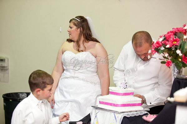 Cake Cutting - Tina and Zack