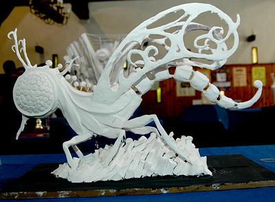 Bloemencorso 2008 - De maquettes