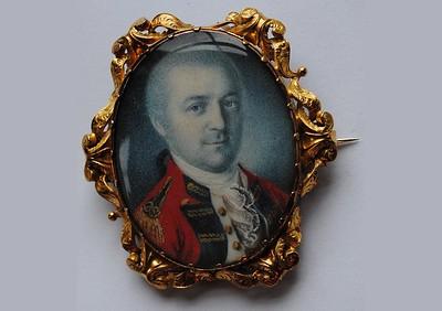 Miniature Portrait of Benedict Arnold *