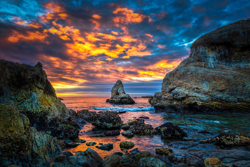 Shell Beach Sunset 20161211.jpg
