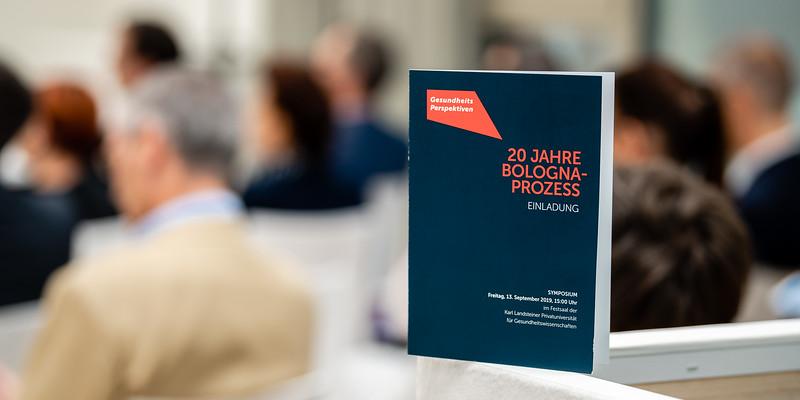 Symposium 20 Jahre Bologna-Prozess