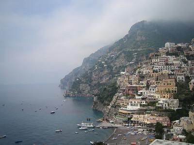 Positano and Amalfi 2007
