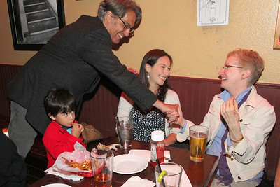 Visiting with Ross Mirkarimi and Eliana Lopez