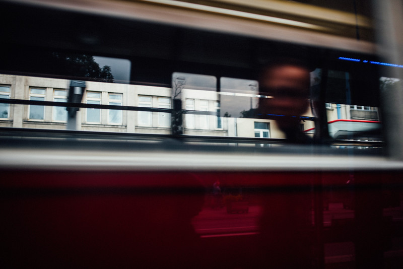 passing tram warsaw from tram window summer nikon street erik witsoe.jpg