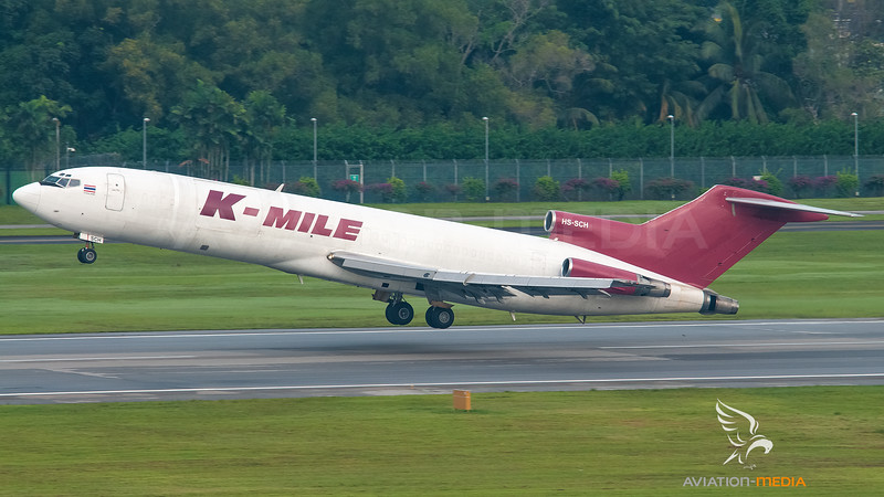 K-Mile Air Cargo (Transmile Air Services) Boeing B727-200 HS-SCH