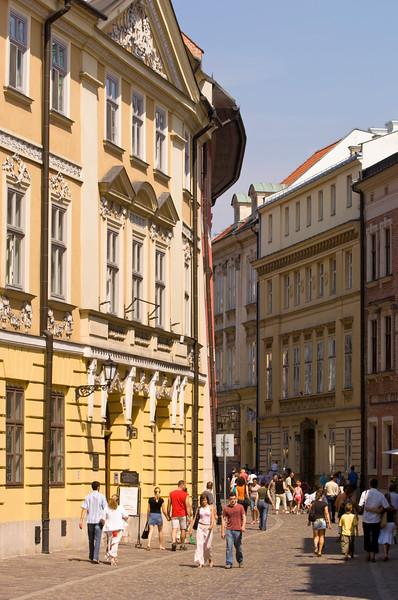 Poland, Cracow, ulica Kanonicza