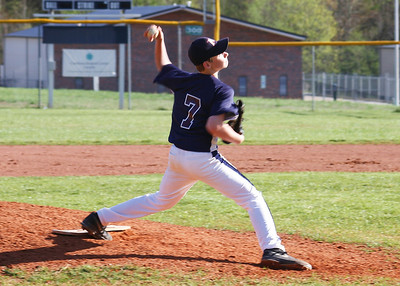 Queen's Grant Baseball Images vs LCS