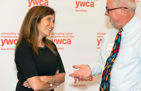 06/11/19 Wesley Bunnell | Staff The YWCA held their annual meeting at the Back Nine Tavern at Stanley Golf Course on Tuesday evening. The event recognized outstanding volunteers, the organizations success as well as recognition for outgoing Executive Director Robin Sharp, L.