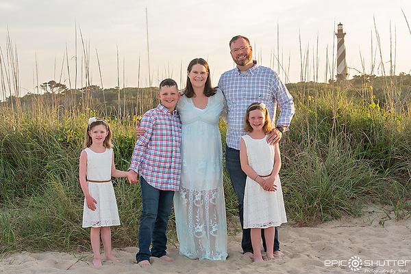 Cape Hatteras Photographer, Lighthouse Family Photos,