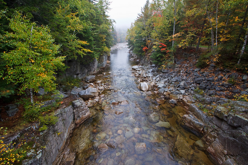 Rocky Gorge and the Swift River, along the Kancamagus Highway.
