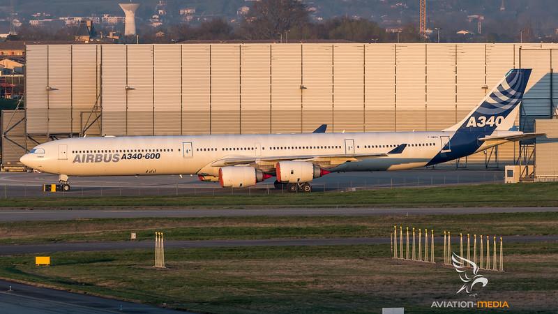 Airbus Industries / Airbus A340-642 / F-WWCA
