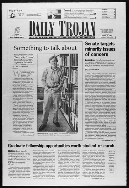 Daily Trojan, Vol. 138, No. 32, October 14, 1999