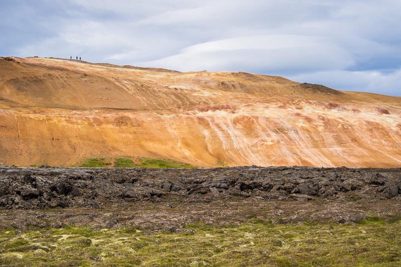 Geothermal features at Krafla