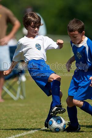 U8 Boys Hurricanes vs Mohawks 5/15/2010