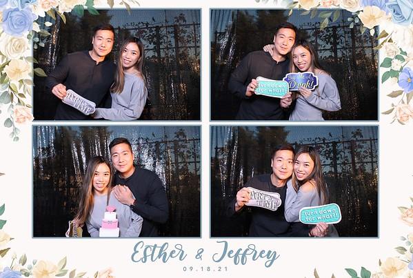 09-18-2021 Esther & Jeffrey