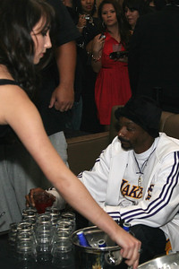 Snoop Dogg at the NBA All-Star Weekend Blowout hosted by Snoop at the Barcelona Club in Scottsdale, AZ, 14 February, 2009