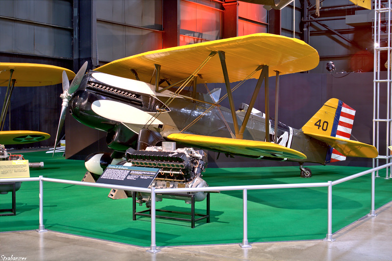 National Museum of the United States Air Force, Dayton, Ohio,   04/12/2019  Curtiss P-6 Hawk 32-261   painted as 32-240  This work is licensed under a Creative Commons Attribution- NonCommercial 4.0 International License.