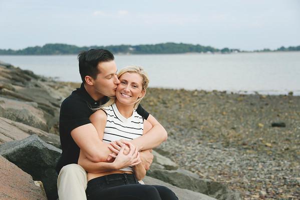 Kathy & Connor's Carson Beach Engagement