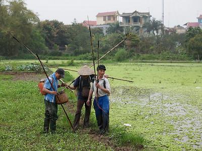 Les cultures, la pêche