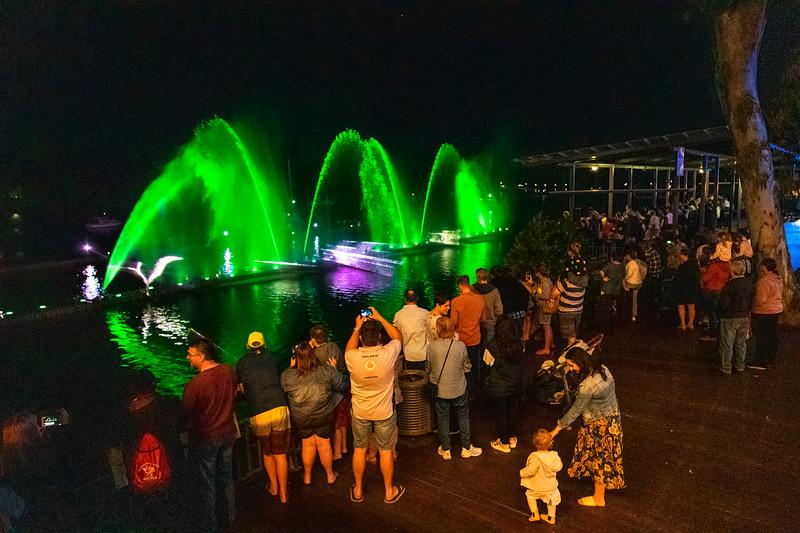 Rockhampton RiverFest 2019, Friday night on the riverfront.