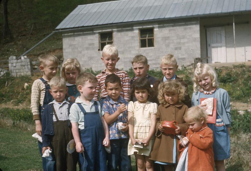 April 1951 - Larimer Saturday Class Primary Children