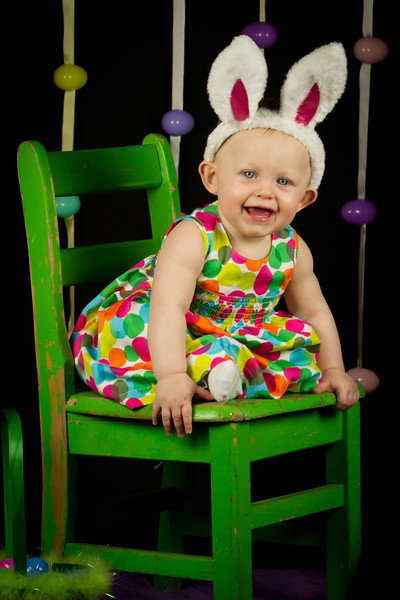 Charlotte's Easter Pictures
