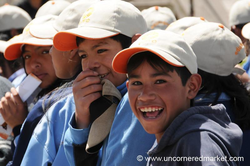Happy Boys - Potosi, Bolivia