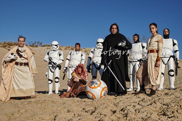 Warren Dunes Star Wars Shoot 2015
