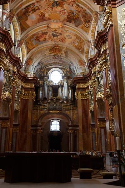 Pipe Organ - Melk Abbey Church