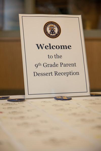 9th Grade Dessert Reception