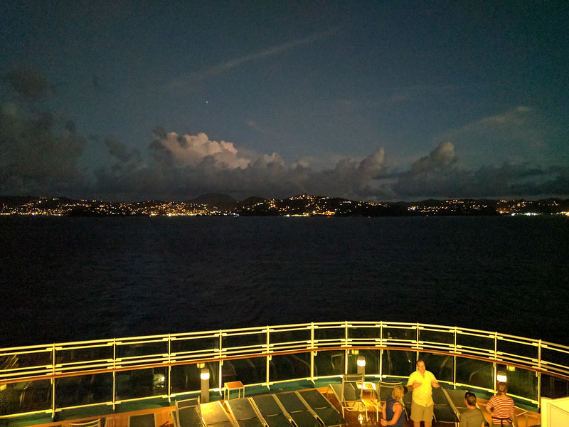 Departing St. Lucia