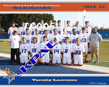 2015 Boys Lacrosse Team Pictures