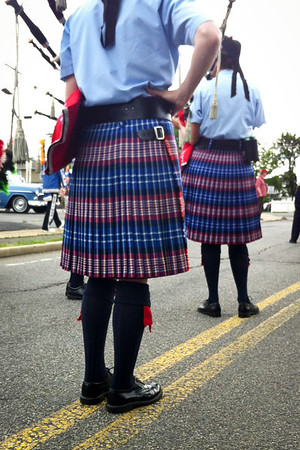 2012-05-28 Memorial Day Parade - Wantagh Pipe Band, Wantagh, NY